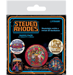 Steven Rhodes: Collection (Pin Badge Pack)