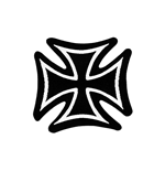 Toppa Generic Patches IRON CROSS
