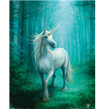 Anne Stokes: Forest Unicorn (Poster 40X50 Cm)