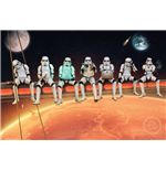 Star Wars: Stormtrooper - On Girders (Poster Maxi 61x91,5 Cm)