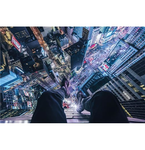 On The Edge Of Times Square (Poster 61X91,5 Cm)