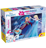 Puzzle Double-Face Supermaxi 24 Pz Frozen