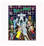 Rick And Morty: Characters Grid (3D Lenticular Poster 25x20 Cm)