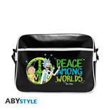 Rick And Morty - Peace (Borsa A Tracolla)