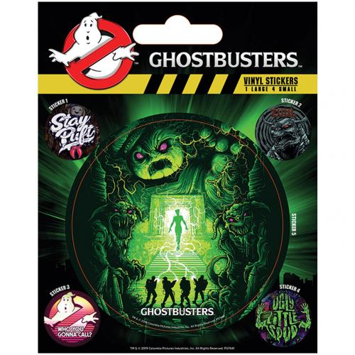 Adesivo Ghostbusters 389095