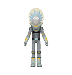 Funko Action Figure: - Rick & Morty- Space Suit Rick