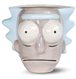 Rick And Morty: Rick Head 3D Shaped Mug (Tazza Sagomata)