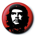 Che Guevara - Red (Pin Badge 25Mm)
