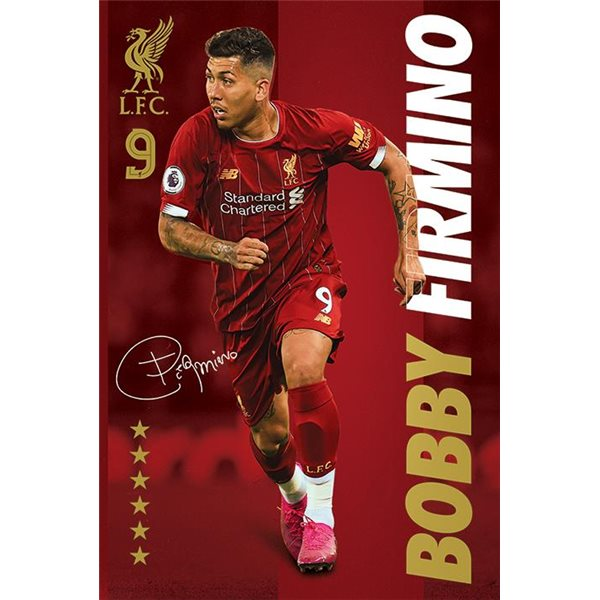 Liverpool Fc (Bobby Firmino) Maxi Poster