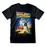 Back To The FUTURE: Poster Black (T-SHIRT Unisex )