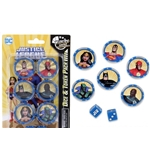 Wargame Dchc Justice League Unltd Dice & Token