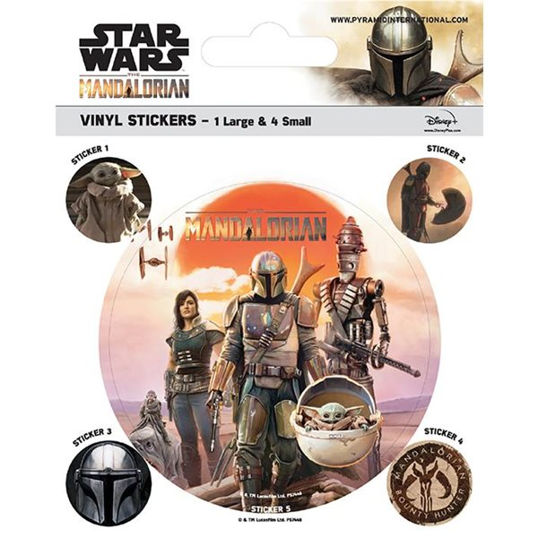 Star Wars: The Mandalorian - Legacy (Vinyl Stickers)