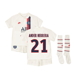Kit da calcio per bambino Paris Saint-Germain 2019/20 Third