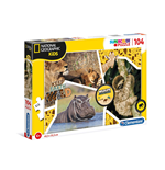 Puzzle National Geographic Kids 104 Pz - Wildlife Adventurer