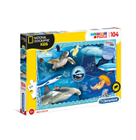 Puzzle National Geographic Kids 104 Pz - Ocean Explorer