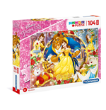 Puzzle Maxi 104 Pz - The Beauty And The Beast