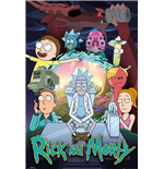 Rick & Morty - Season 4 (Poster Maxi 61x91,5 Cm)