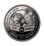 Street Fighter 30Th Anniversary Versus Collectors Limited Edition Coin Silver Variant