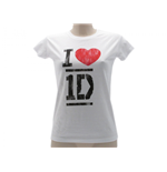 T-shirt One Direction I Love - ODILOV.BI