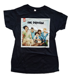 T-shirt One Direction da donna - Design: Up All Night