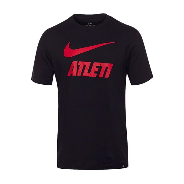 T-shirt Atletico Madrid 2020/21 (Nero)
