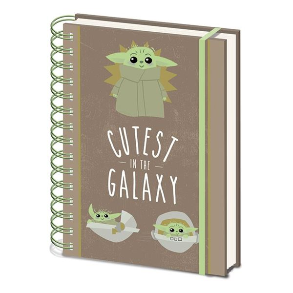 Star Wars: The Mandalorian - Cutest In The Galaxy A5 Notebook (Quaderno)