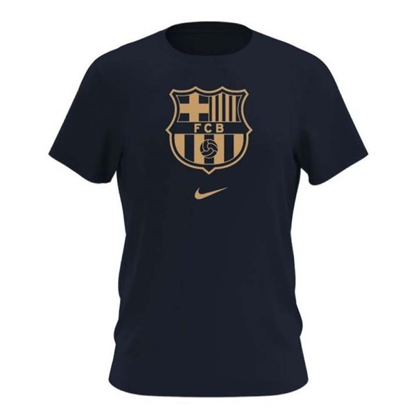 T-shirt Barcellona 2020/21 (Nero)