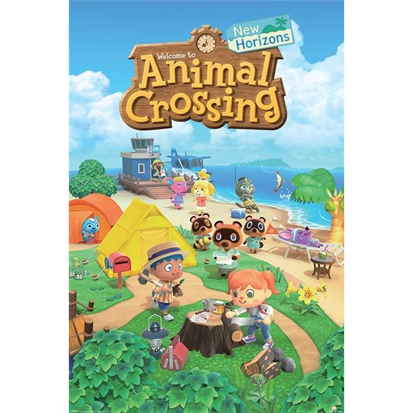 Animal Crossing: New Horizons (Poster 61X91,5 Cm)