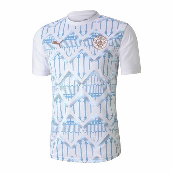 T-shirt Manchester City 2020/21 (Bianco)