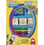Multiprint 27862 - Box 4 Timbri - Spongebob