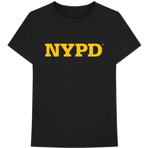T-shirt New York City unisex - Design: NYPD Text Logo