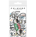 Friends (Central Perk Sketch) Rubber Keychain