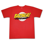 T-shirt BIG BANG THEORY Bazinga Logo