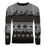 Nightmare Before CHRISTMAS: Symbols (maglione Unisex )