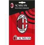 Imagicom Patchmil01 - Ac Milan Iron On Patch In Textile Logo