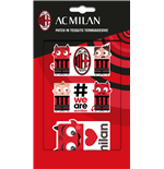 Imagicom Patchmil02 - Ac Milan Iron On Patch In Textile Graphic