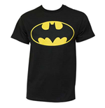 T-shirt BATMAN Classic Yellow Bat Logo