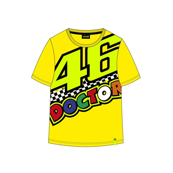 T-shirt da bambino VR46 - The Doctor