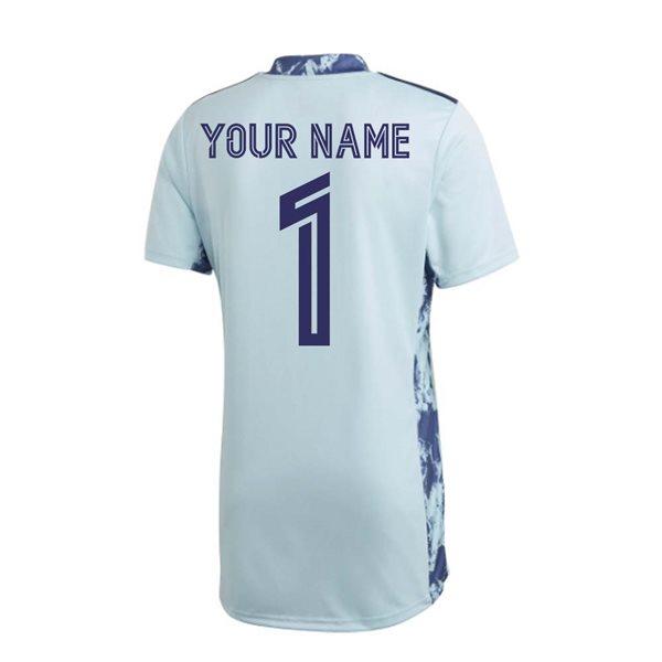 Maglia da portiere Real Madrid 2020/21 Home personalizzabile