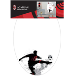 Imagicom: Ac Milan Wall Sticker White Board Graphic 1 Foglio (50X70Cm)
