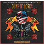 "Vinile Guns N' Roses - Welcome To Paradise City: Hand-Numbered 10-Inch Double Album on Splatter Vinyl in Gatefold Sleeve (2 x 10"")"