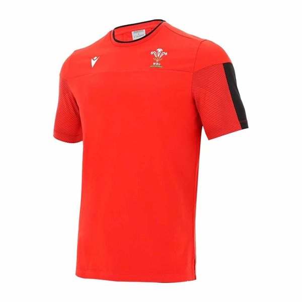 T-shirt Galles rugby 2020/21 (Rosso)