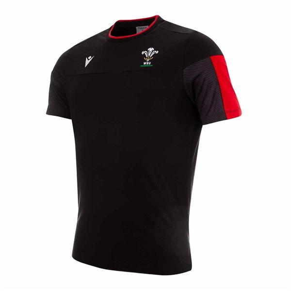 T-shirt Galles rugby 2020/21 (Nero)