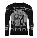 Nightmare Before CHRISTMAS: Seriously Spooky (maglione Unisex )