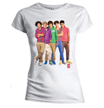 T-shirt One Direction da donna - Design: Group Standing Colour