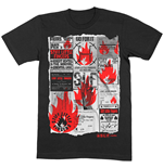 T-shirt Stiff Little Fingers unisex - Design: Flyer