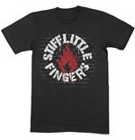 T-shirt Stiff Little Fingers unisex - Design: Wall