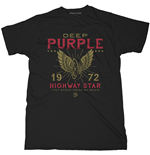 T-shirt Deep Purple unisex - Design: Highway Star