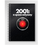 Taccuino 2001 A Space Odyssey Poster Notebook