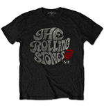 T-shirt The Rolling Stones unisex - Design: Swirl Logo '82